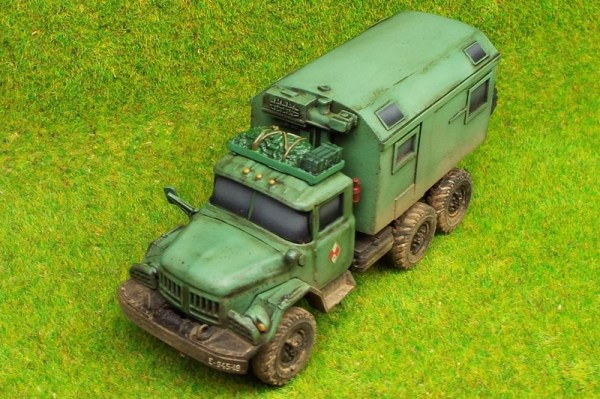 Amercon Zil 131 command/office body conversion