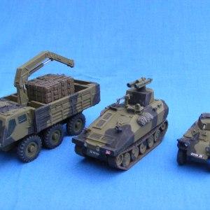 1/72 (20mm) Post war & modern vehicles