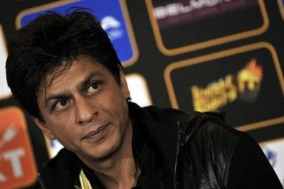 "Shah Rukh Khan, known as the ""King of Bollywood"", was held for two hours at an airport outside New York. The actor has lashed out at airport officials over the episode. (AFP/File/Gianluigi Guercia - For source of photo click on it)"