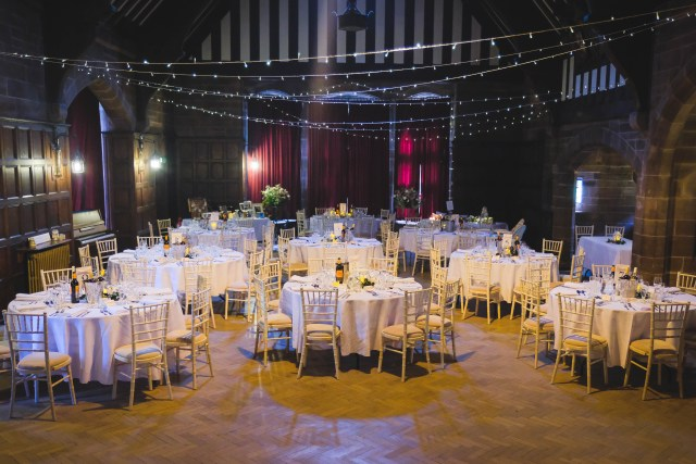 Ullet road church hall wedding reception