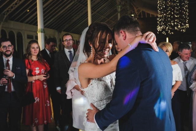 First dance at Liverpool wedding