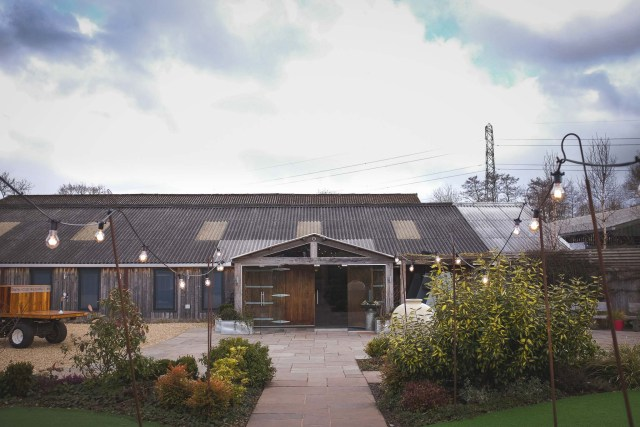 Photograph of Owen House Wedding Barn in Cheshire