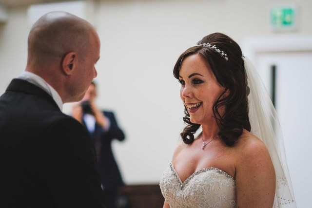 Getting married at Leasowe Castle Wirral