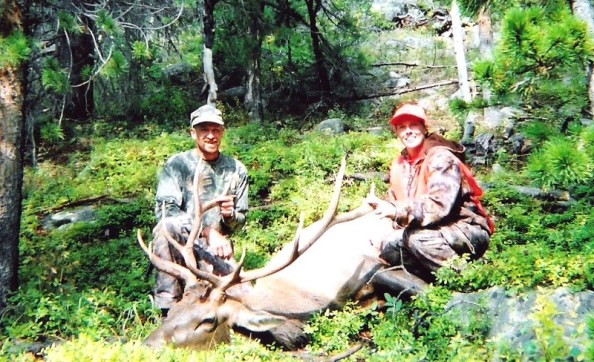 I used to ride my horse up a foot wide trail in the Colorado mts to shoot elk.