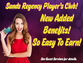Player Card Benefits - Best Casino in Reno NV