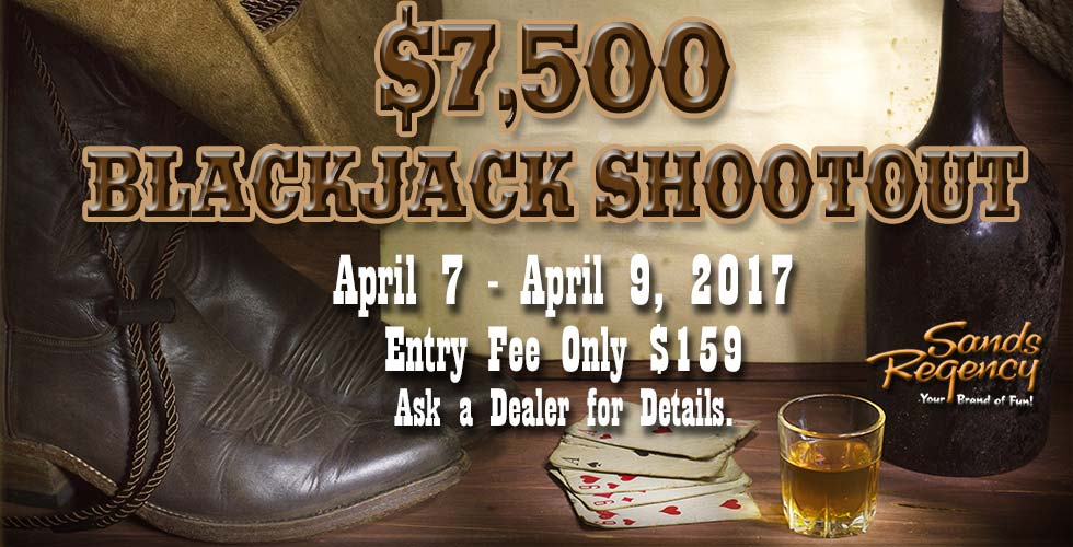 $7,500 Blackjack Shootout