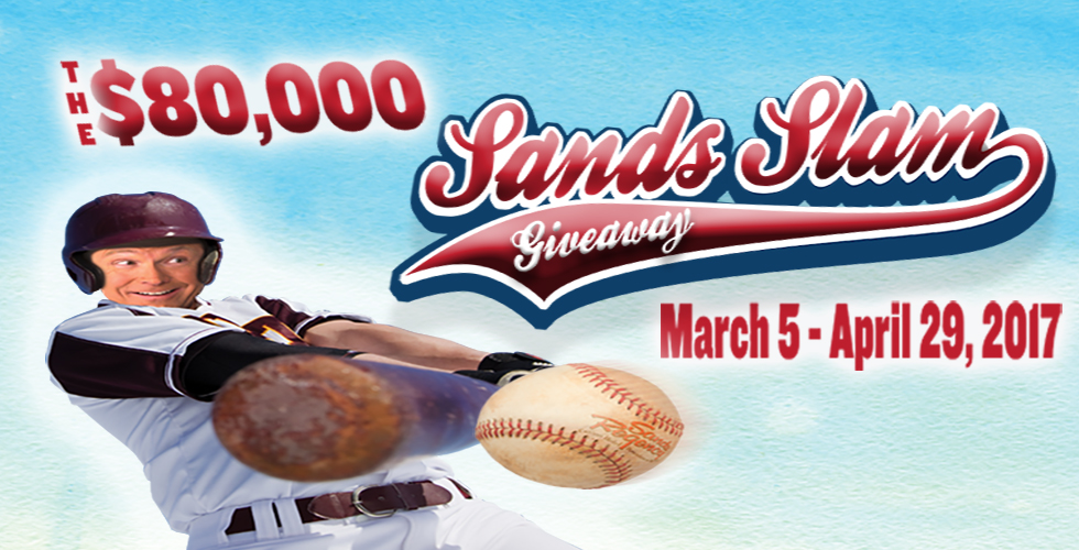 The $80,000 Sands Slam