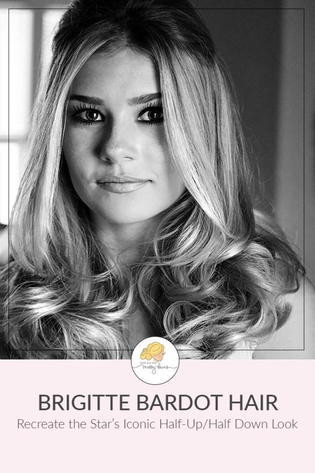 icon series: brigitte bardot hair tutorial | sand sun