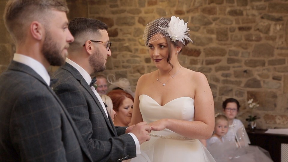 Getting married at Stirk House in Lancashire