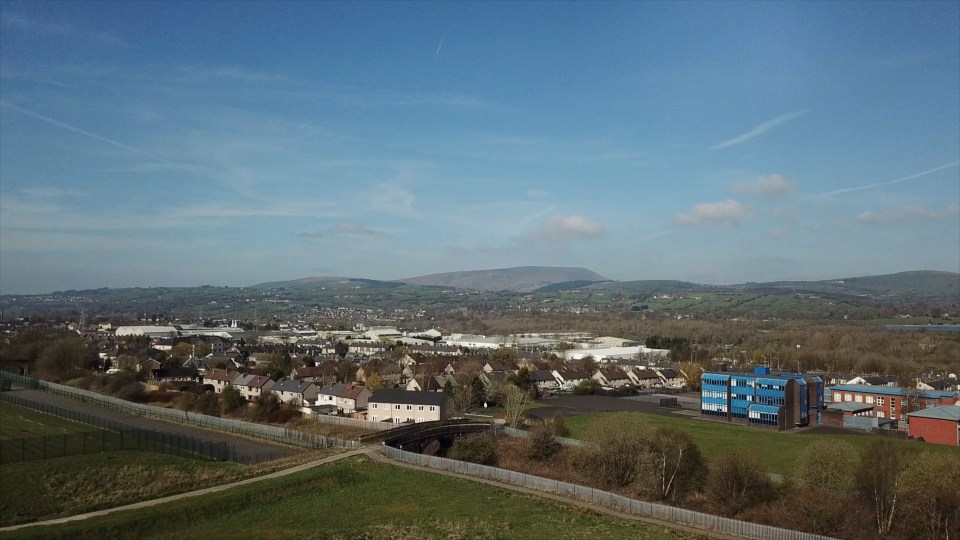 Drone photography and video in Colne Lancashire