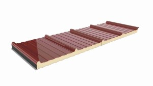 Roof Three Frets Sandwich Panel