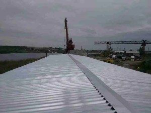 cold stores sandwich panel roof