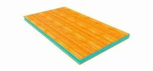 Wooden Sandwich Panel has 14 different types of finishes, the authentic wood sandwich panel composed of water-repellent chipboard, 40 to 100mm thick polystyrene insulation.
