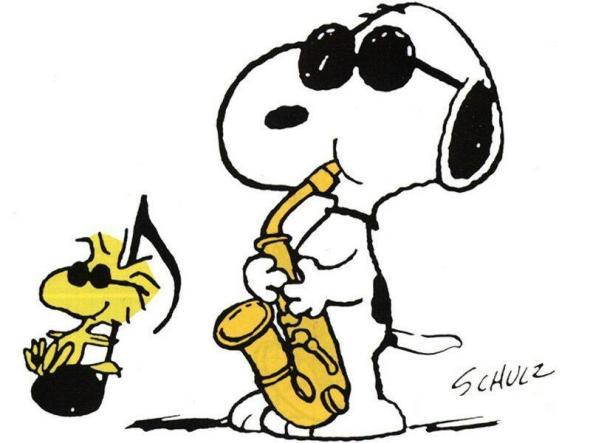 Snoopy-Sax