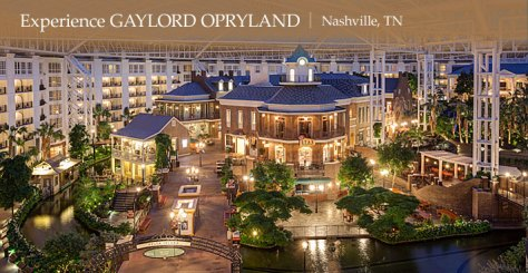 Experience Opryland Hotel