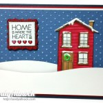 Hero Arts House: Winter Tutorial