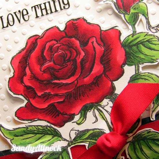 Sandy Allnock - Stampendous Rose 2