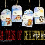 24 Tags of Christmas 2014: Day One