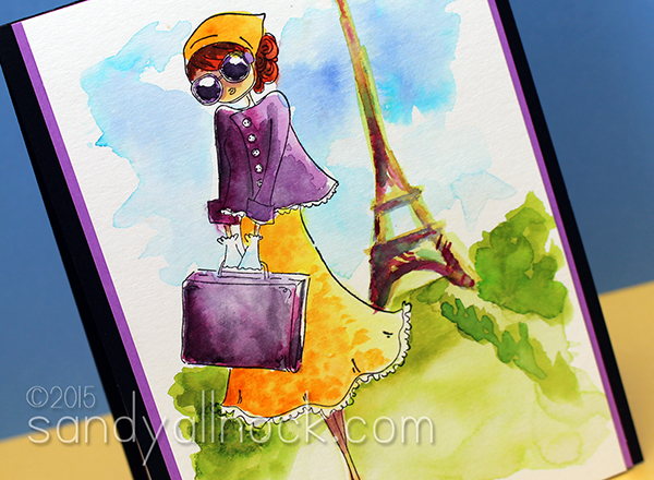 Sandy Allnock - Peerless WC Paris Stroll