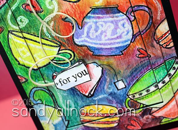 Sandy Allnock -- Impressions of High Tea