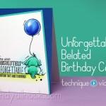 Belated birthday card Ideas – Unforgettable Elephants