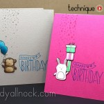 Stamped Birthday Cards
