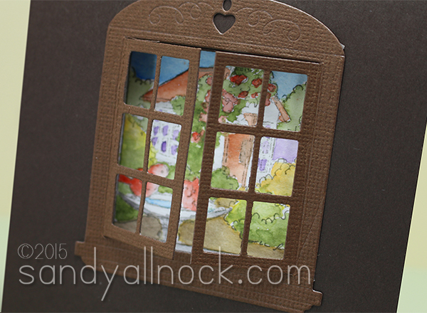 Sandy Allnock WIndow cards