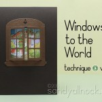 Peekaboo Window Cards – with a giveaway!