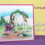 Watercolor an Arbor – Art Impressions