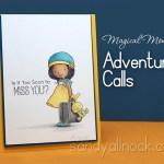 Magical Monday: Adventure Calls (Colored Pencil)