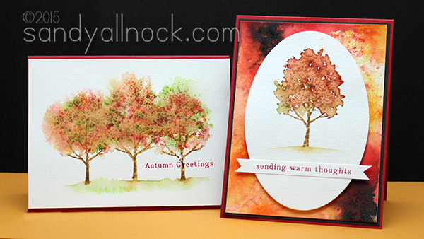 Sandy Allnock Fall Trees