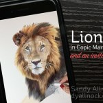 Wild Eye: Drawing a Lion in Copic Marker