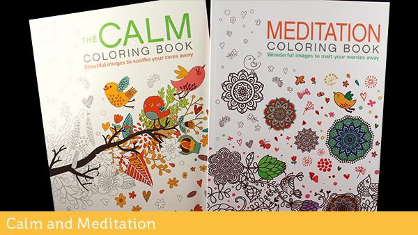 Adult Coloring Books Calm Meditation