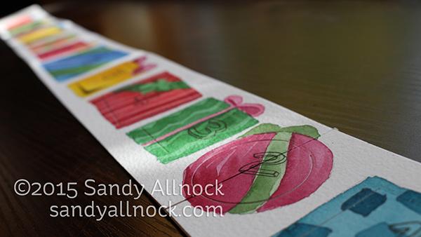 Sandy Allnock - 12 day Christmas Countdown Calendar