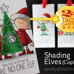 24 Tags of Christmas 2015: Shading Elves in Copic Marker