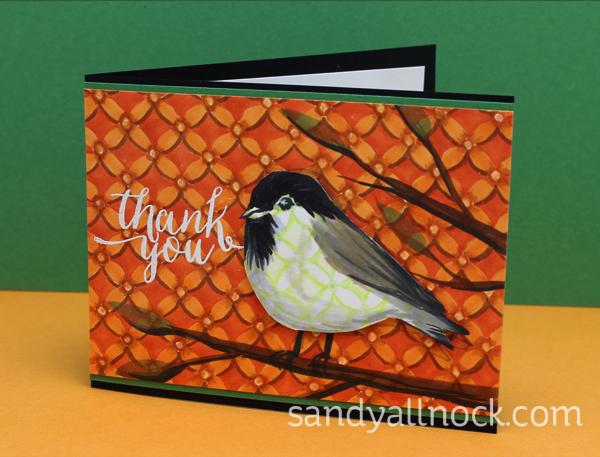 Sandy Allnock Chickadee cards 1