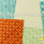 Copic Coloring Patterned Paper (Inspired By #3)