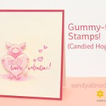 Gummy-fying stamps – candied hogs!?