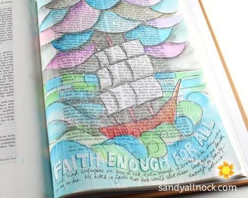 Sandy Allnock Bible Journal Faith for All