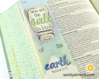 Sandy Allnock Bible Journal Salt of the Earth