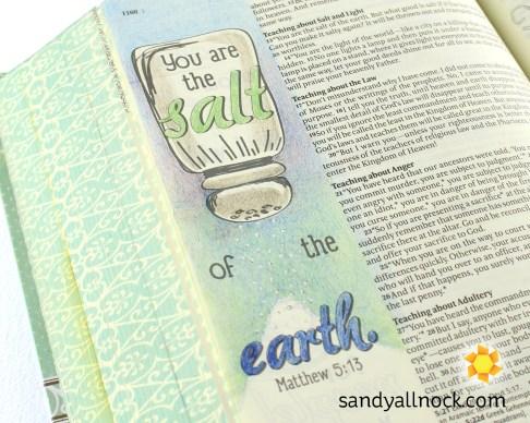 Sandy Allnock Bible Journal Salt of the Earth