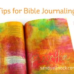 3 Tips for Bible Journaling
