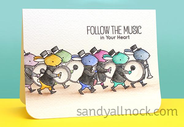 Sandy Allnock MagicalMonday Marching Mice