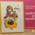 Watercolor: Walking on sunshine