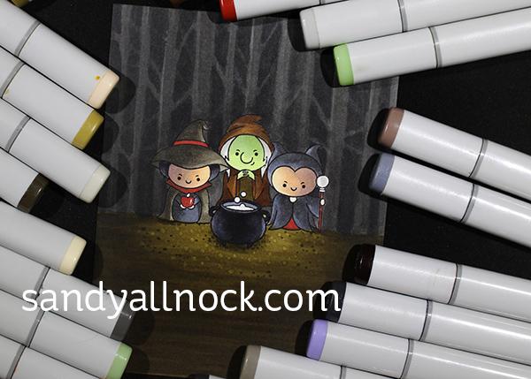 Sandy Allnock Masking Witch Scenes