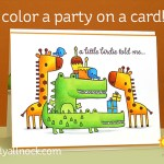 Party on a card! (and a sale)