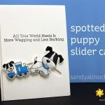 Spotted Puppy Slider Cards