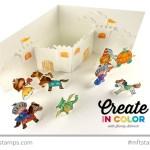 Paper Doll Castle Card