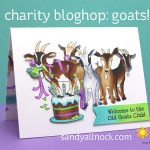 Goats! Charity Bloghop