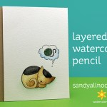 Layered Watercolor Pencil Dreamers